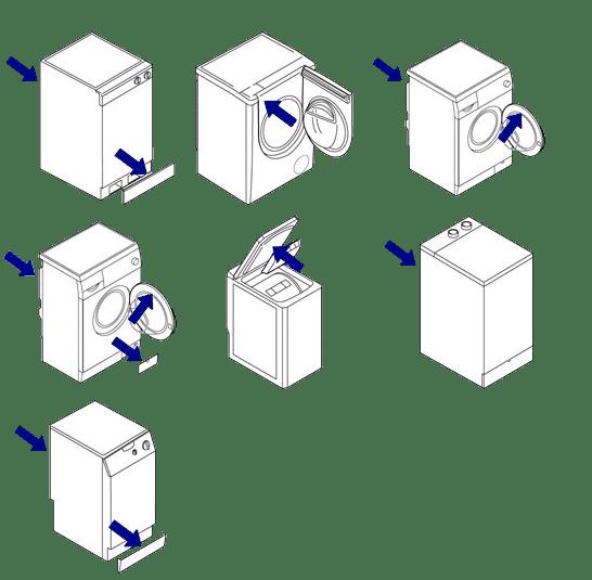 подбор запчастей стиральных машин